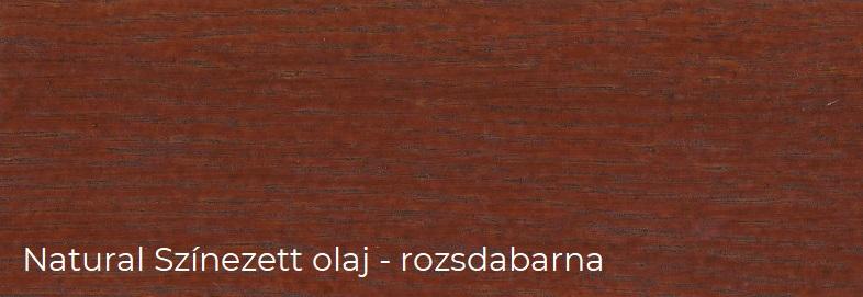 Rozsdabarna színű színes parketta olaj